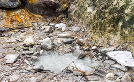 Yangmingshan Nation Park Volcanic Sulfur, Taipei Apr 2016 Stock Photography