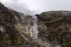 Yangmingshan Nation Park Volcanic Sulfur, Taipei Apr 2016 Stock Photos