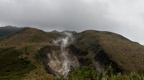 Yangmingshan Nation Park Volcanic Sulfur, Taipei Apr 2016 Stock Image