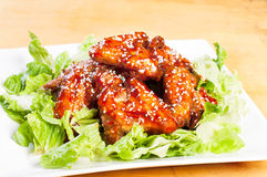 Yangnam chicken Royalty Free Stock Image