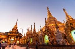 Yangon, 19.2014 Μιανμάρ-Φεβρουαρίου: Παγόδα Shwedagon Στοκ φωτογραφία με δικαίωμα ελεύθερης χρήσης
