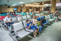 Yangon airport Royalty Free Stock Photography