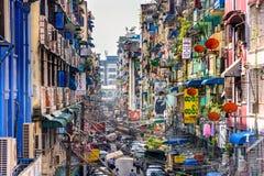 Yangon Alleyway Stock Image