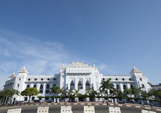 Yangon City hall. Royalty Free Stock Photos