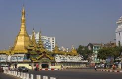 Yangon downtown Royalty Free Stock Image