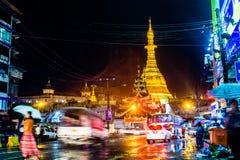 Yangon, Myanmar imágenes de archivo libres de regalías