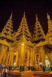 Yangon, Myanmar 22 de junio, 2558 Lugares santos famosos de Myanmar y Foto de archivo