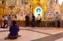 YANGON, MYANMAR - FEB 25: Shwedagon Festival Royalty Free Stock Images