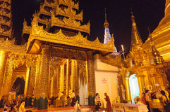 YANGON, MYANMAR - FEB 25: Shwedagon Festival Stock Photo