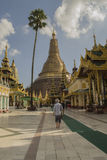 Yangon Myanmar November 05, 2014. Shwedagon pagoda. Shwedagon pagoda, the main pagoda of the country of Myanmar, Burma Royalty Free Stock Image
