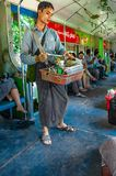 BUSINESS ON LINE. BETEL NUT CHEWING CULTURE Stock Photos