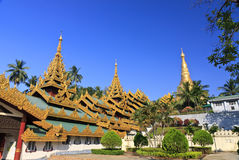 Shwedagon Pagoda-Myanmar Royalty Free Stock Images