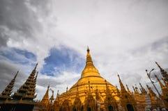 Yangon Myanmar Shwedagon Pagoda Temple Royalty Free Stock Images