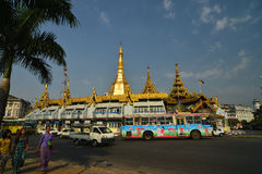 YANGON, MYANMAR Royalty Free Stock Image