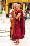 Yangon - 30 November: Shwedagon Stock Afbeeldingen