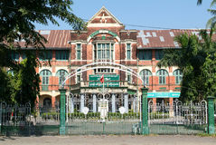 Yangon (Rangoon) building from British Imperial time Royalty Free Stock Image