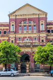 Yangon old building Royalty Free Stock Images