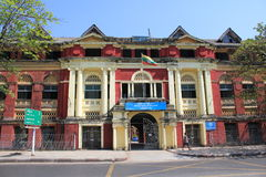 Yangon Street view Royalty Free Stock Photos