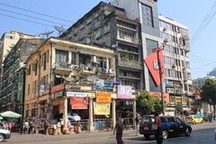 Yangon Street view Stock Photography