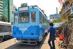 Yangon Tram Royalty Free Stock Photo