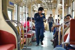 Yangon Tram Royalty Free Stock Photos