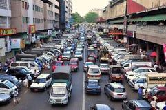 Yangon ulica, Myanmar zdjęcie royalty free