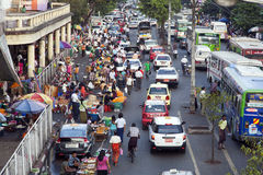 Yangon van de binnenstad Stock Afbeelding