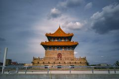 Yangpu biblioteka, Szanghaj, Chiny fotografia stock
