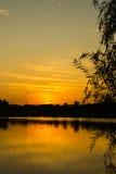 Yangshan Park sunset Stock Photos