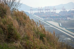 Yangshan Port Royalty Free Stock Image