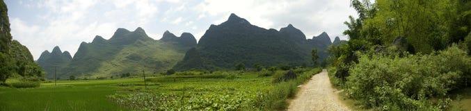 Yangsho landscape Royalty Free Stock Image