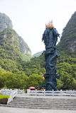 yangshuo памятника dragonball фарфора Стоковые Фото