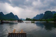 Yangshuo Guilin Fotografie Stock Libere da Diritti