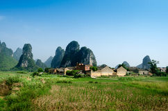 Yangshuo Guilin, China Royalty Free Stock Photo