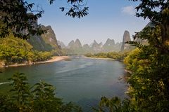 Yangshuo, Guilin em China Foto de Stock Royalty Free