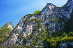 Yangshuo hills detail Royalty Free Stock Photography