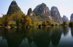 Yangshuo hills Stock Photo