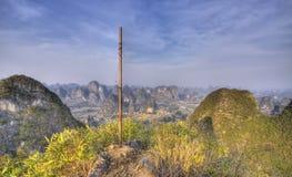 Yangshuo karst landscape guangxi china Stock Photo