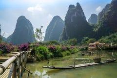 Yangshuo Kina Arkivbild