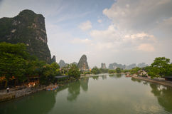 Yangshuo landscape Royalty Free Stock Image