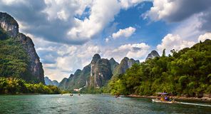 Yangshuo Li River scenery Stock Photos