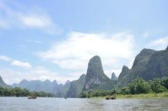 Yangshuo Lijiang River Landscape Royalty Free Stock Photo