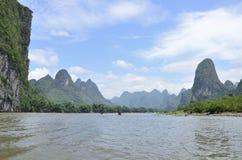 Yangshuo Lijiang River Landscape Stock Photos