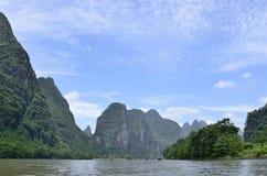 Yangshuo Lijiang River Landscape Royalty Free Stock Image