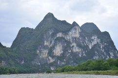 Yangshuo Lijiang River Landscape Royalty Free Stock Images