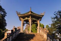 Yangshuo pavilion Royalty Free Stock Photo