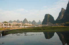 Yangshuo, Porzellan Stockfotos