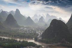 Yangshuo scenery Stock Photos