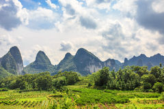 Yangshuo Scenery from China Guilin Royalty Free Stock Photos