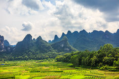 Yangshuo Scenery from China Guilin Stock Photography